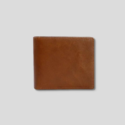 Classic Fold Leather Wallet