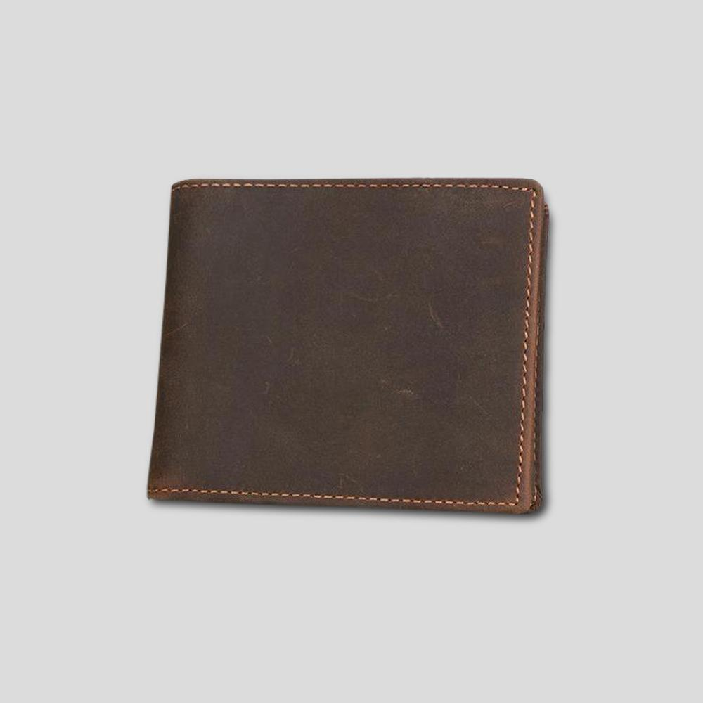 High Capacity Leather Wallet