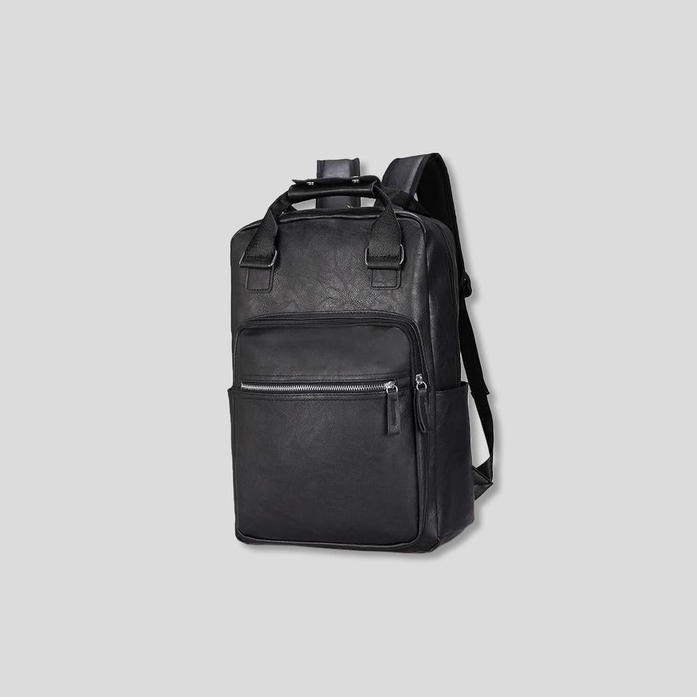 Of Earth Vintage Leather Backpack