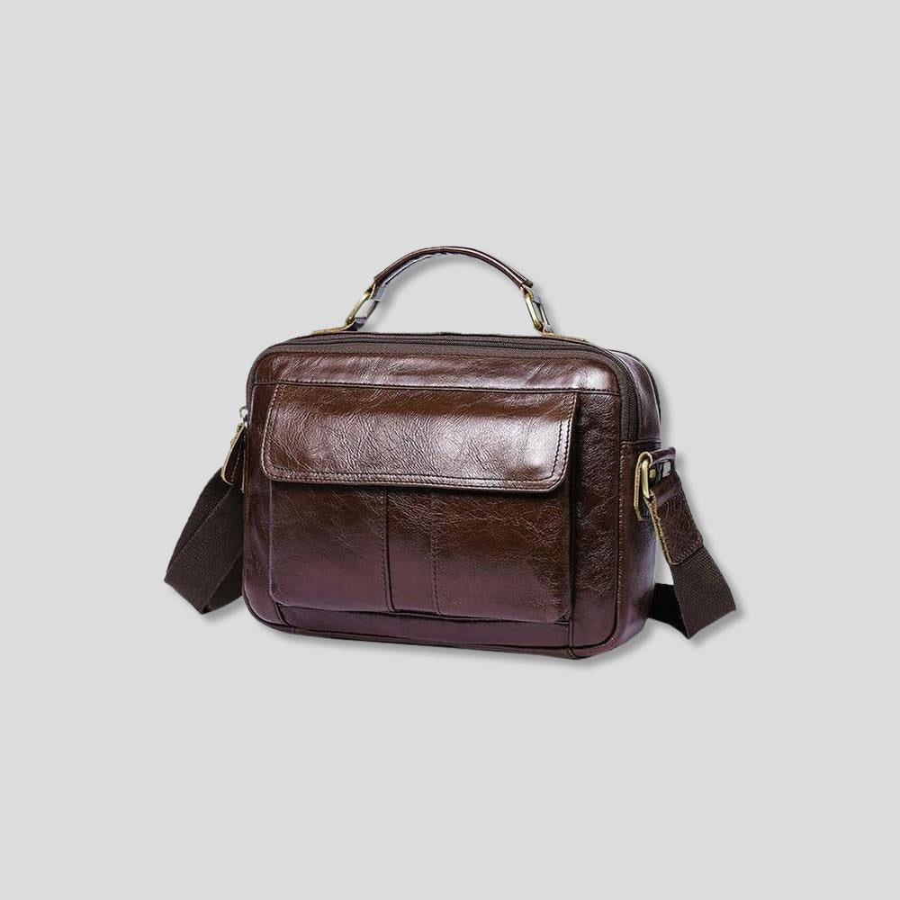 Phoenix Classic Leather Briefcase