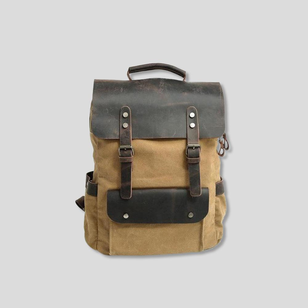 Brougham Leather Backpack