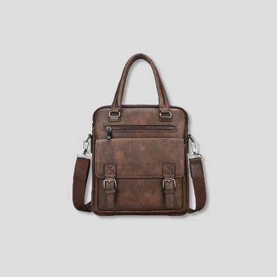 Weekend Warrior Durable Leather Crossbody Bag