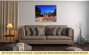 Gallery Wrapped Canvas, Downtown Athens Georgia USA Cityscape