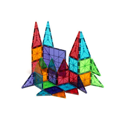 Valtech Magna-Tiles 100pc Clear Colors