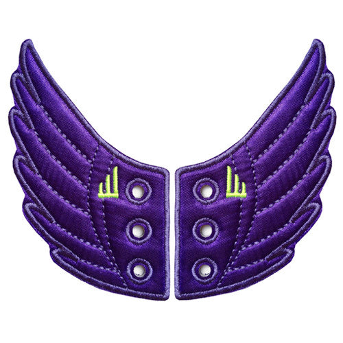 Shwings Windsor Shoe Wings Asst. Shwings Shoe Wings| Purple