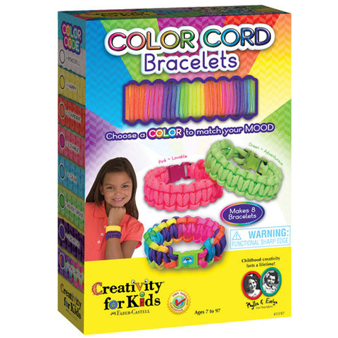 Creativity Color Cord Bracelets