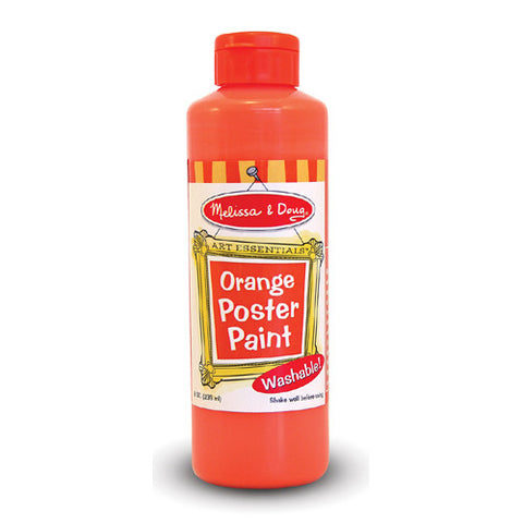 M&D Orange Poster Paint