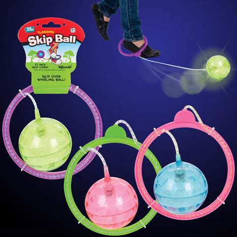 Toysmith Light Up Skip Ball