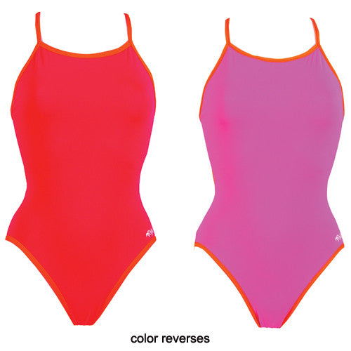 Dolfin Poly Reversible Flash/Pink 34