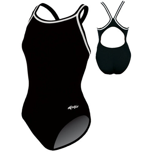 Dolfin Poly Team Solid Black 34
