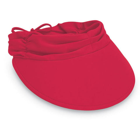 Wallaroo Aqua Visor Red