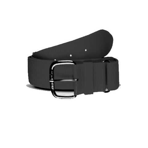 Sportime Baseball Belt 22-36In Black