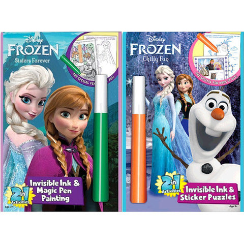 Lee Frozen 2 in 1 Magic Ink Book