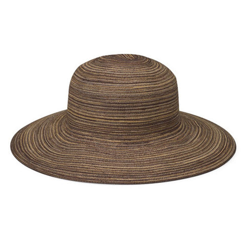 Wallaroo Sydney Diva UV Sun Hat Brown/Dark Brown