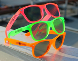 Green Glow-in-the-Dark w/ Amber Diffraction Glasses Astroshadez-Other Unisex Clothing & Accs-Astroshadez-Green-ASTROSHADEZ.COM