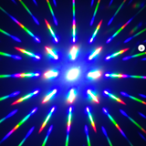 Pink Glow-in-the-Dark w/ Clear Diffraction Glasses