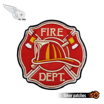 Fire Dept Department Patches (10 pieces) 3.5 inches-Patches-ASTROSHADEZ.COM-ASTROSHADEZ.COM