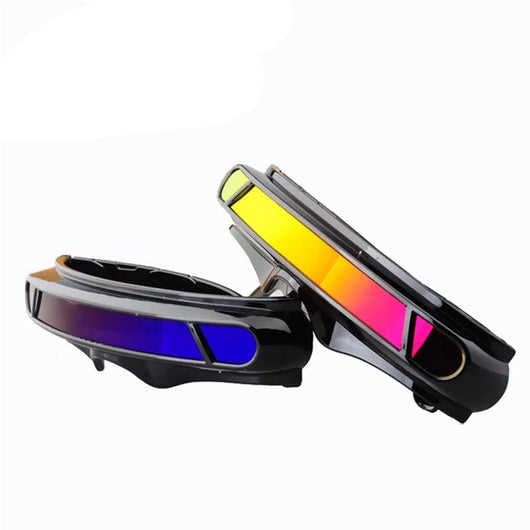 Mens 'Cyclops X-Men' Futuristic Single Lens Sunglasses-Men's Sunglasses-Astroshadez-ASTROSHADEZ.COM