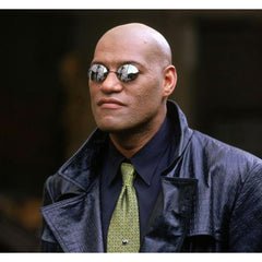 Unisex 'Matrix Morpheus' Frameless Rimless Movie Sunglasses-Sunglasses-Astroshadez-ASTROSHADEZ.COM
