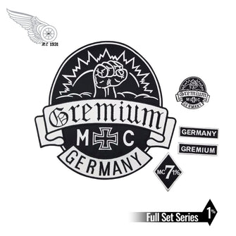 GREMIUM Germany Patch Set-Patches-ASTROSHADEZ.COM-ASTROSHADEZ.COM