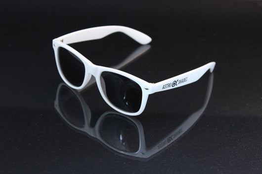 White Nerd Glasses-Other Unisex Clothing & Accs-Astroshadez-ASTROSHADEZ.COM