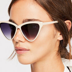 Womens 'Klaw' Triangle Cat Eye Sunglasses Astroshadez-Women's Sunglasses-Astroshadez-ASTROSHADEZ.COM