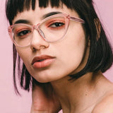 Womens 'Paulina' Clear Lens Cat Eye Sunglasses-Home-Astroshadez-ASTROSHADEZ.COM