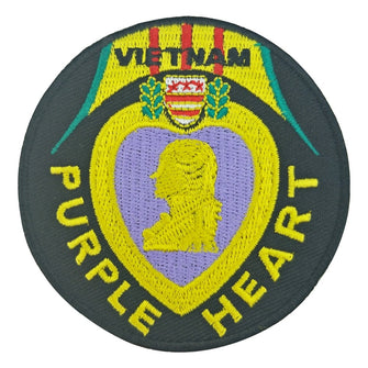 Vietnam Purple Heart Patch x10 Pieces-Home-ASTROSHADEZ.COM-ASTROSHADEZ.COM