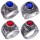 US ARMY NAVY MARINES VETERAN USMC AIRFORCE USN Stainless Steel Silver Gold Ring Mens-ASTROSHADEZ.COM-ASTROSHADEZ.COM