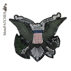 US EAGLE MC MOTORCYCLE BIKE IRON PATCH LARGE-ASTROSHADEZ.COM-ASTROSHADEZ.COM