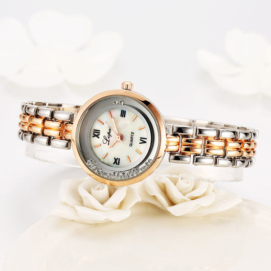 2017 New Arrivals Women Gold Bracelet Quartz Watch Steel Dress Fashion Female Ladies Wristwatch Luxury Crystal Bracelet Watches-ASTROSHADEZ.COM-ASTROSHADEZ.COM
