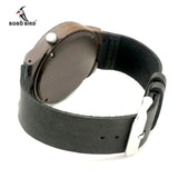 Mens Wood Bamboo Brown Green Black Watch Leather Strap Relogio-ASTROSHADEZ.COM-ASTROSHADEZ.COM