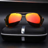 Mens Aviator 'Top Gun' Polarized Alloy Premium Sunglasses Astroshadez