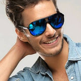 Mens 'Nautical' Polarized Sunglasses Astroshadez-ASTROSHADEZ.COM-Blue-ASTROSHADEZ.COM