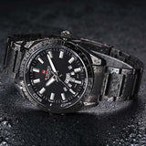 NAVIFORCE Top Luxury Brand Men Sports Watches Mens Quartz Clock Man Stainless Steel Army Military Wrist Watch Relogio Masculino-ASTROSHADEZ.COM-Black-ASTROSHADEZ.COM
