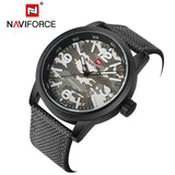 2016 New Luxury Top Brand NAVIFORCE Men Army Military Watches Mens Sports Quartz Clock Waterproof Wrist Watch Relogio Masculino-ASTROSHADEZ.COM-Gray-ASTROSHADEZ.COM