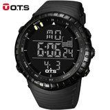 Top Brand OTS Cool Black Mens Fashion Large Face LED Digital Swimming Climbing Outdoor Man Sports Watches Christmas Boys Gift-ASTROSHADEZ.COM-Black-China-ASTROSHADEZ.COM