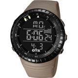 Top Brand OTS Cool Black Mens Fashion Large Face LED Digital Swimming Climbing Outdoor Man Sports Watches Christmas Boys Gift-ASTROSHADEZ.COM-khaki-China-ASTROSHADEZ.COM