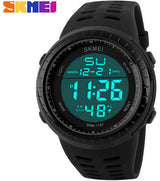 SKMEI Mens Watches Luxury Sport Army Outdoor 50m Waterproof Digital Watch Military Casual Men Wristwatches Relogio Masculino-ASTROSHADEZ.COM-Black-ASTROSHADEZ.COM