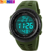SKMEI Mens Watches Luxury Sport Army Outdoor 50m Waterproof Digital Watch Military Casual Men Wristwatches Relogio Masculino-ASTROSHADEZ.COM-Green-ASTROSHADEZ.COM