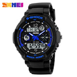 Skmei Children Sport Watches Military Fashion Kids Quartz Led Display Digital Watch Relogio Relojes Boys Waterproof Wristwatches-ASTROSHADEZ.COM-Blue-ASTROSHADEZ.COM