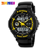 Skmei Children Sport Watches Military Fashion Kids Quartz Led Display Digital Watch Relogio Relojes Boys Waterproof Wristwatches-ASTROSHADEZ.COM-Yellow-ASTROSHADEZ.COM