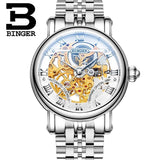 Switzerland BINGER Luxury Gold Automatic Watches Skeleton Fashion Watch Men Mechanical Wristwatch Full Steel relogio masculino-ASTROSHADEZ.COM-Men watch 01-ASTROSHADEZ.COM