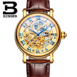 Switzerland BINGER Luxury Gold Automatic Watches Skeleton Fashion Watch Men Mechanical Wristwatch Full Steel relogio masculino-ASTROSHADEZ.COM-Men watch 06-ASTROSHADEZ.COM