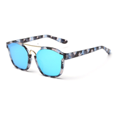 Womens 'Emotion' Browline Cateye Sunglasses Astroshadez-ASTROSHADEZ.COM-Blue-ASTROSHADEZ.COM