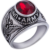 US ARMY NAVY MARINES VETERAN USMC AIRFORCE USN Stainless Steel Silver Gold Ring Mens-ASTROSHADEZ.COM-7-Army-ASTROSHADEZ.COM