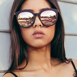 Womens 'Carrera' Circle Round Premium Sunglasses Astroshadez-Love Will Remember-ASTROSHADEZ.COM