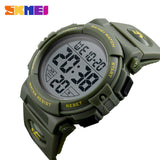 SKMEI New Sports Watches Men Outdoor Fashion Digital Watch Multifunction 50M Waterproof Wristwatches Man Relogio Masculino 1258-ASTROSHADEZ.COM-ArmyGreen-ASTROSHADEZ.COM