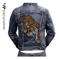 TIGER MC MOTORCYCLE BIKE IRON PATCH LARGE-ASTROSHADEZ.COM-ASTROSHADEZ.COM