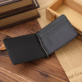 Genuine Leather Men Money Clip Wallet Luxury Famous Designer Short Wallet Clutch High Quality Purse Best Gift - BID096 PM49-ASTROSHADEZ.COM-ASTROSHADEZ.COM